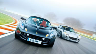 Lotus Elise S2 and Sports Racer
