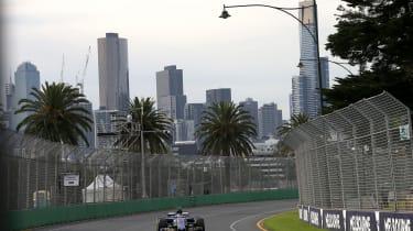 Sauber F1 Melbourne