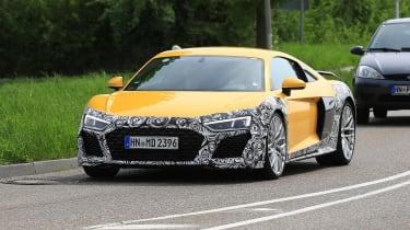 Audi R8 facelift - front