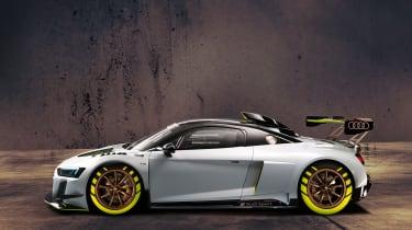 Audi R8 LMS GT2 side