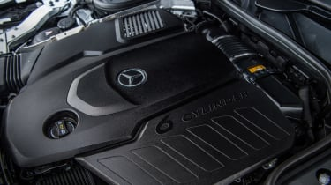 Mercedes-Benz CLS 400d engine