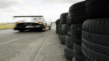 Pagani Zonda R on Top Gear test track