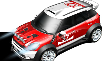 Mini Countryman for WRC