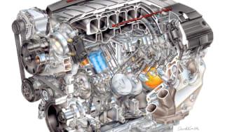 Chevrolet launches LT1 Corvette engine