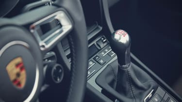 Porsche Cayman T gear stick
