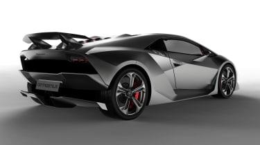 Lamborghini Sesto Elemento - rear