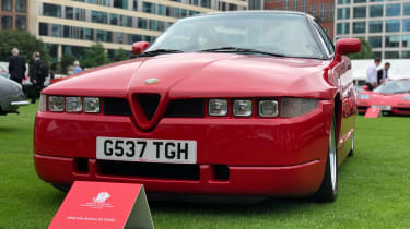 Alfa Romeo SZ - front
