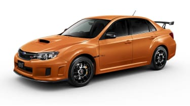 Subaru Impreza WRX STI tS Type RA Tangerine Orange