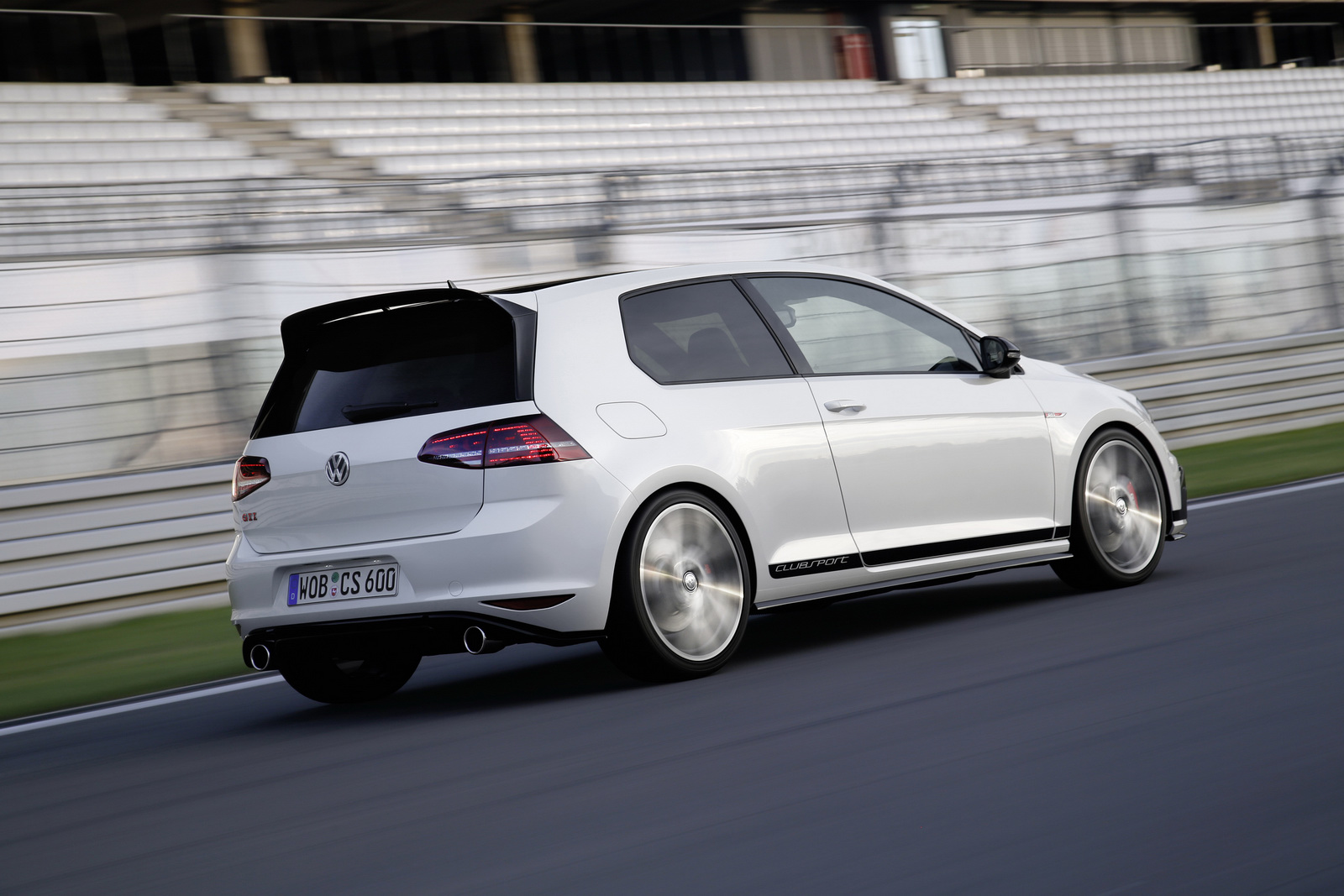Volkswagen Golf Gti Clubsport At Frankfurt Motor Show 0 60