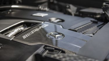 Mercedes-AMG G63 engine