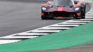Aston Martin Valkyrie dynamic debut British GP 2019