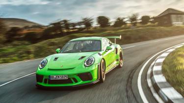 Porsche 911 GT3 RS 991.2 - front