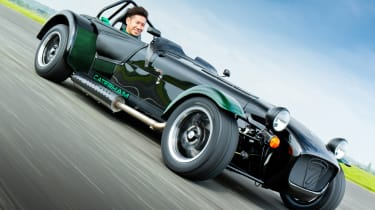 Caterham Seven Kobayashi edition launched