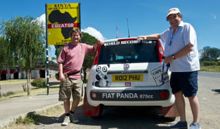 Fiat Panda Africa record run - Day 6