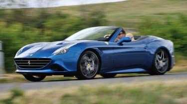 Ferrari California T blue