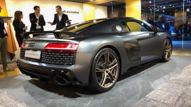 Audi R8 Decennium live - rear quarter