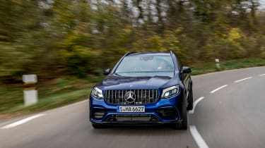 Mercedes-AMG GLC 63 S - front driving