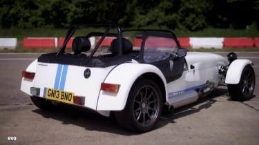 Caterham Seven Roadsport 140 white rear