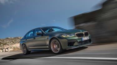 BMW M5 CS - low tracking