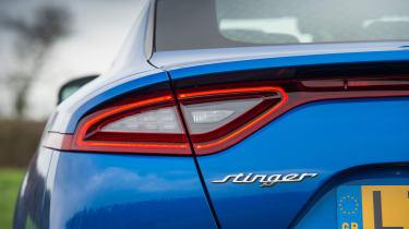 Kia Stinger GT S - Rear light