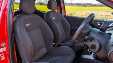 Renault Sport Twingo 133 – seats