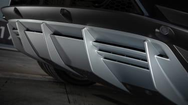 Lamborghini Huracan EVO silver - diffuser