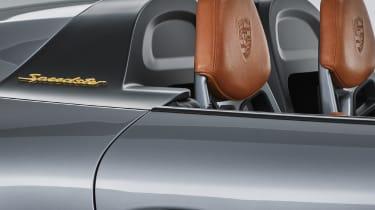 Porsche 911 Speedster - seats