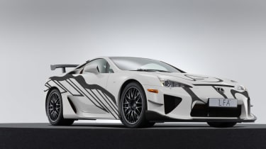 Lexus LFA art car front