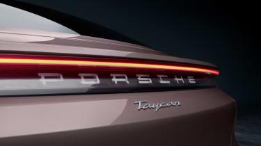 Porsche Taycan rear-wheel drive