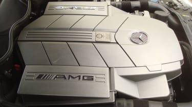 Mercedes C55 AMG engine