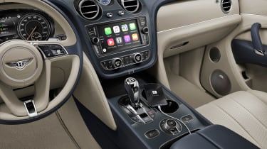 Bentley Bentayga PHEV - dash