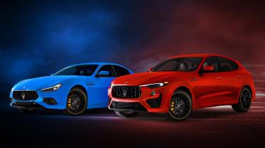 Maserati F Tributo special editions
