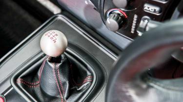 Honda S2000 – interior