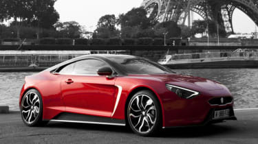 Exagon Furtive electric GT red front