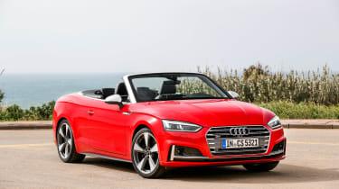 Audi S5 Cabriolet - front three quarter