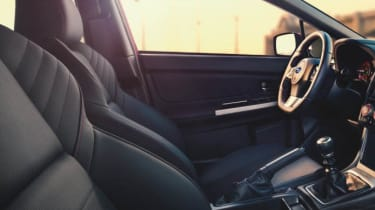 New Subaru WRX interior seats