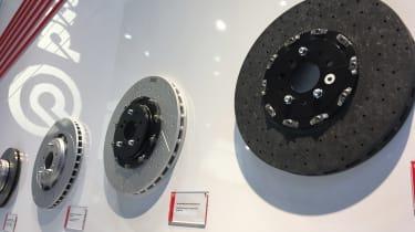 Brembo brake discs - 2017 Frankfurt motor show