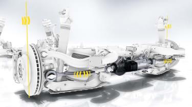 Porsche Cayenne – rear-steer