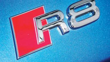 2013 Audi R8 V10 Plus badge