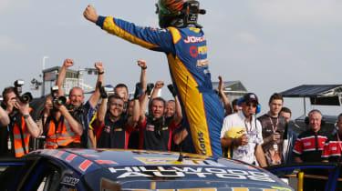 British Touring Cars Knockhill Jordan wins