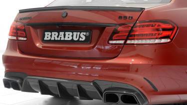 Brabus 850 Biturbo rear diffuser