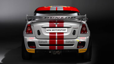 Mini Coupe at Nurburgring 24 Hour Race