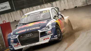 World RX R9 Canada - Audi front