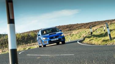 Subaru WRX STI Final Edition - cornering