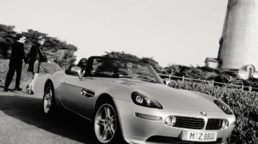 BMW Z8 – front quarte