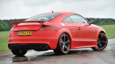 2013 Audi TT RS Plus red rear spoiler