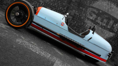Morgan 3 Wheeler Gulf edition