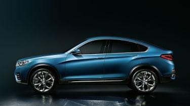 2014 BMW X4 Concept side profile