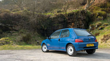 Peugeot 106 Rallye buying checkpoints