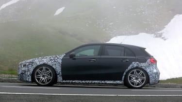 Mercedes-AMG A45 prototype - profile